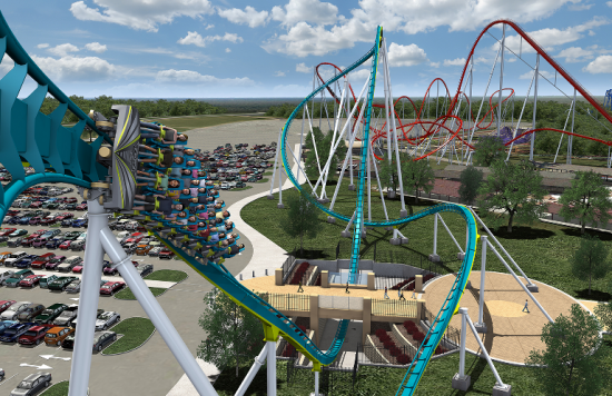 The world's Tallest and Fastest Giga Coaster To Debut At Carowinds