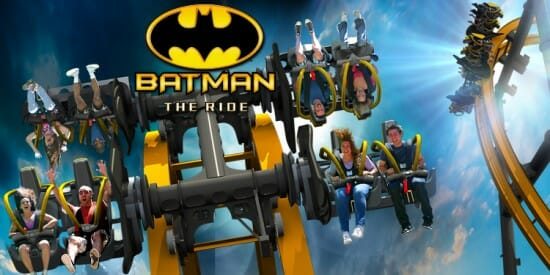 BATMAN: The Ride – A New Coaster Concept Premiering at Six Flags Fiesta Texas in 2015!