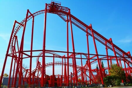 T3 – Terror to the Third Power at Kentucky kingdom