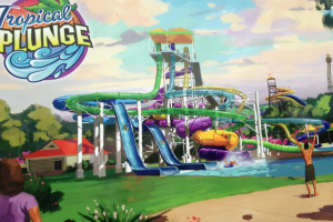 Tropical Plunge coming to Kings Island in 2016!