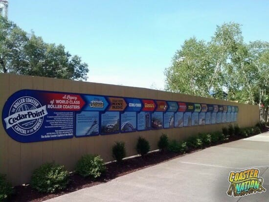 Cedar Point Coaster Timeline Has Moved! Construction Update