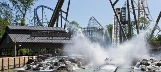 Cedar Point Removing Shoot The Rapids