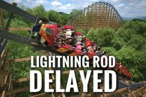 RMC Releases Statement For The Delay Of Dollywood's New Lightning Rod Coaster