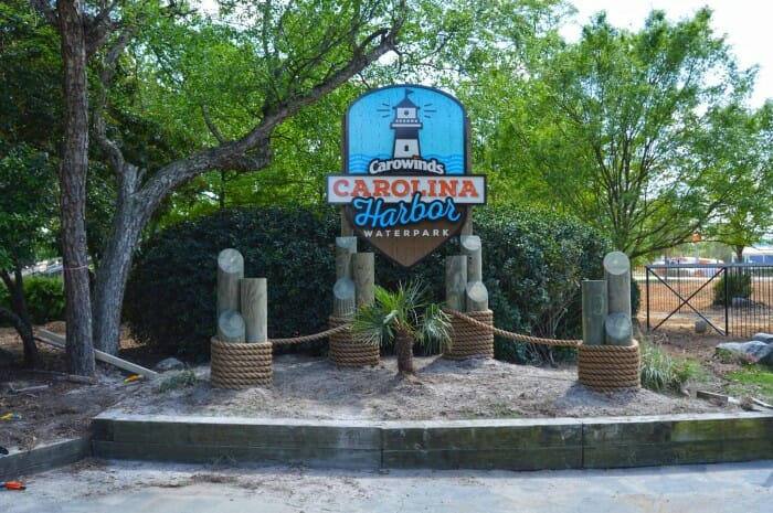 The All New Carolina Harbor Waterpark Construction Tour – Carowinds