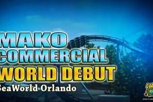 SeaWorld Reveals New Passholder Perks And A MAKO Commercial!