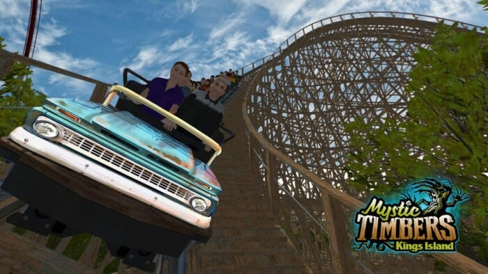 New Roller Coaster Rolls Into Kings Island: Mystic Timbers