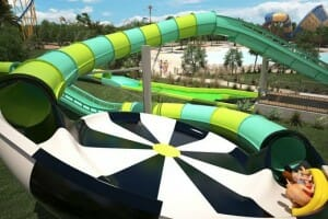 Six Flags Fiesta Texas Unveils New Water Coaster For 2017!