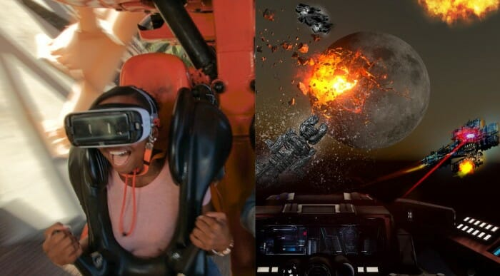 World's First Mixed Reality Experience On A Virtual Reality Coaster Coming To Six Flags