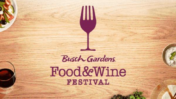Busch Gardens 2019 Food & Wine Festival Concert Lineup