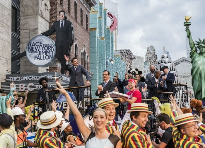 """Race Through New York Starring Jimmy Fallon"" is Now Open at Universal Orlando Resort"