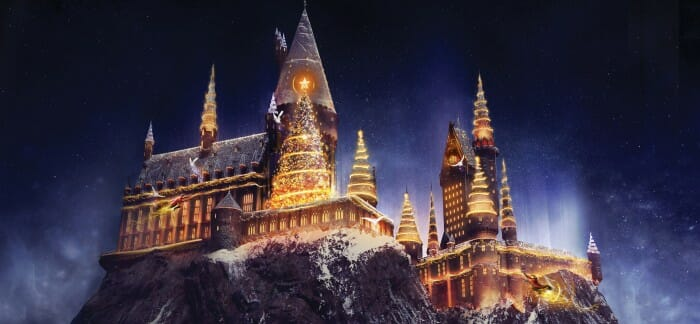 Christmas is Coming to The Wizarding World Of Harry Potter at Universal Orlando