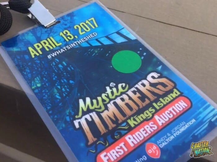 Mystic Timbers First Rider Auction Raises $60,000 For Andy & Jordan Dalton Foundation