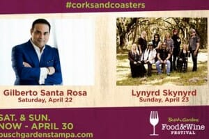 Gilberto Santa Rosa and Lynyrd Skynyrd Perform at Food and Wine This Weekend