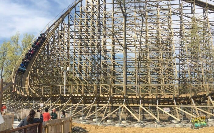 Carowinds Construction Indicates New Wooden Coaster in 2019