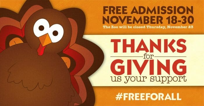 Pittsburgh Zoo Offering Free Admission For 12 Days In November