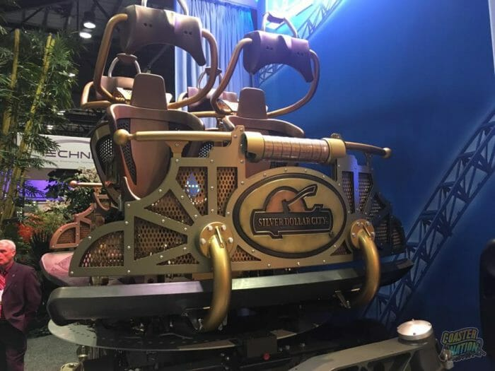 Silver Dollar City and Mack Rides Reveal New Time Traveler Train