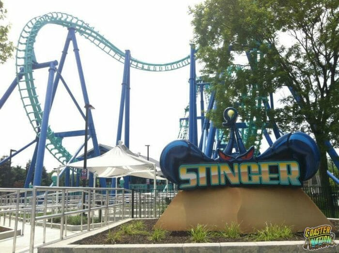 Stinger To Be Removed From Dorney Park