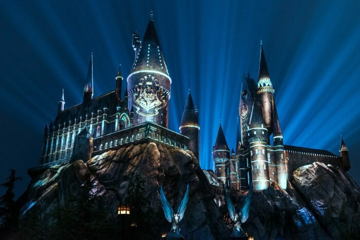 """""""The Nighttime Lights at Hogwarts Castle"""" Now Open"""