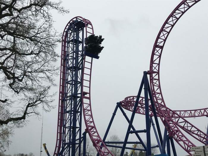 Adrenaline Peak Roller Coaster Debuts at Historic Oaks Park