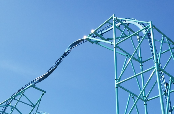Video: SeaWorld San Diego's Tallest And Fastest Coaster Is Testing