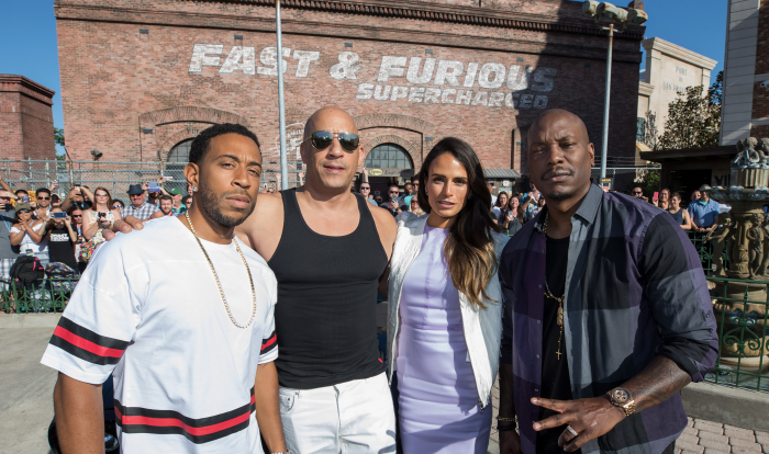 Universal Orlando Celebrates Fast & Furious Supercharged Opening With Movie Stars