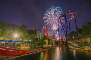 Extended Fireworks Show Comes To Busch Gardens Tampa For Fourth Of July