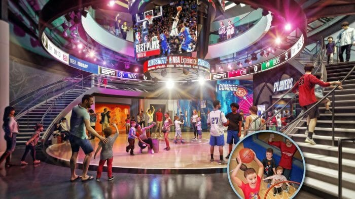New Details and Activities Revealed for NBA Experience at Disney Springs