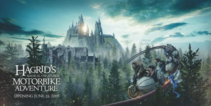 Universal Orlando Resort Reveals New Experience in The Wizarding World of Harry Potter – Hagrid's Magical Creatures Motorbike Adventure