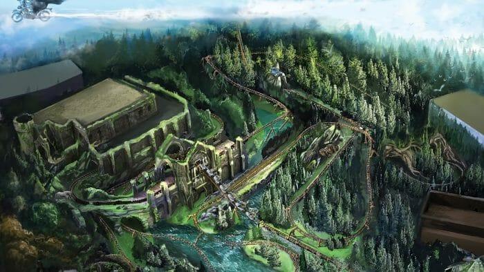Universal Orlando Resort Reveals New Details For Hagrid's Magical Creatures Motorbike Adventure