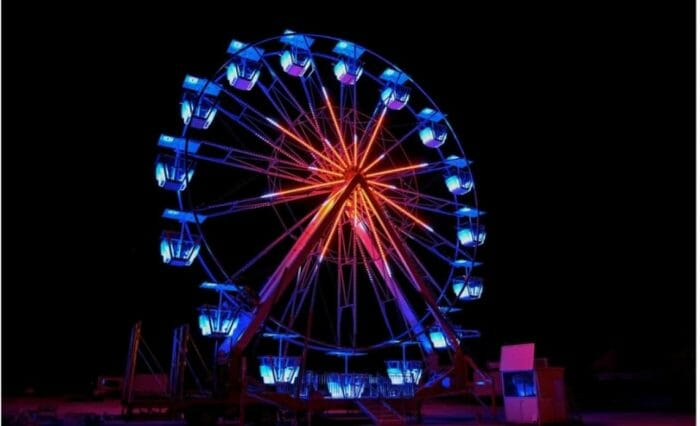 Fun Spot Orlando Adding Flashy New Ferris Wheel