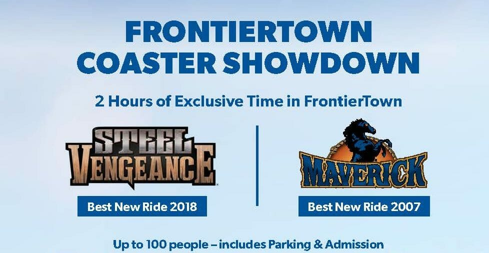Coaster Showdown! Cedar Point Auctioning Off Two-Hour Private Event