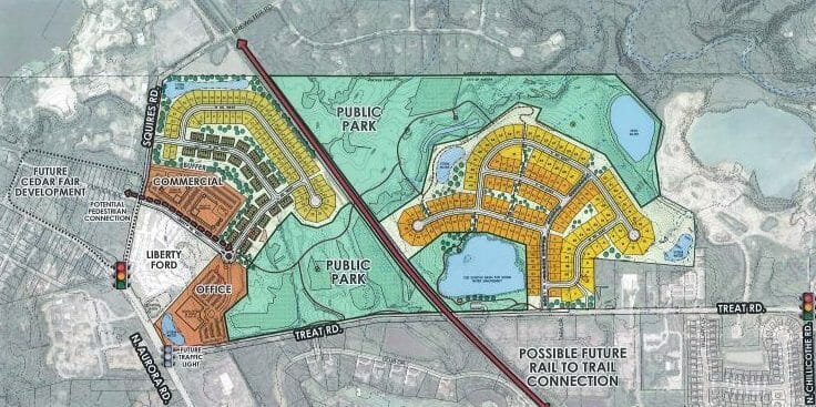 New Plan Proposed For Former Geauga Lake / SeaWorld of Ohio Property