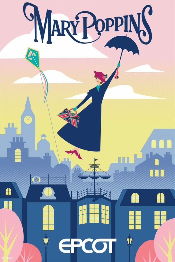 New Mary Poppins Experience Coming to Epcot UK Pavilion at Walt Disney World